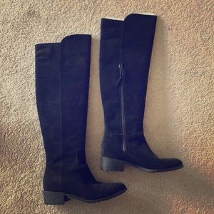 Cole Haan knee high suede boots